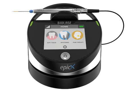 Mobile version of the Epic X Laser Dentistry machine