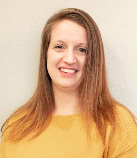 Our team member, Kristen works as a scheduling coordinator