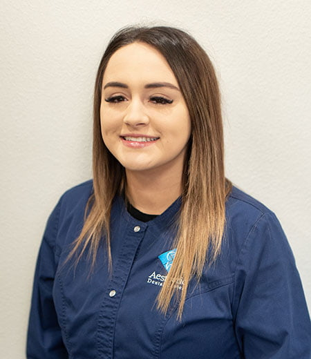 Brooke is a dental assistant at Aesthetic Dental Center